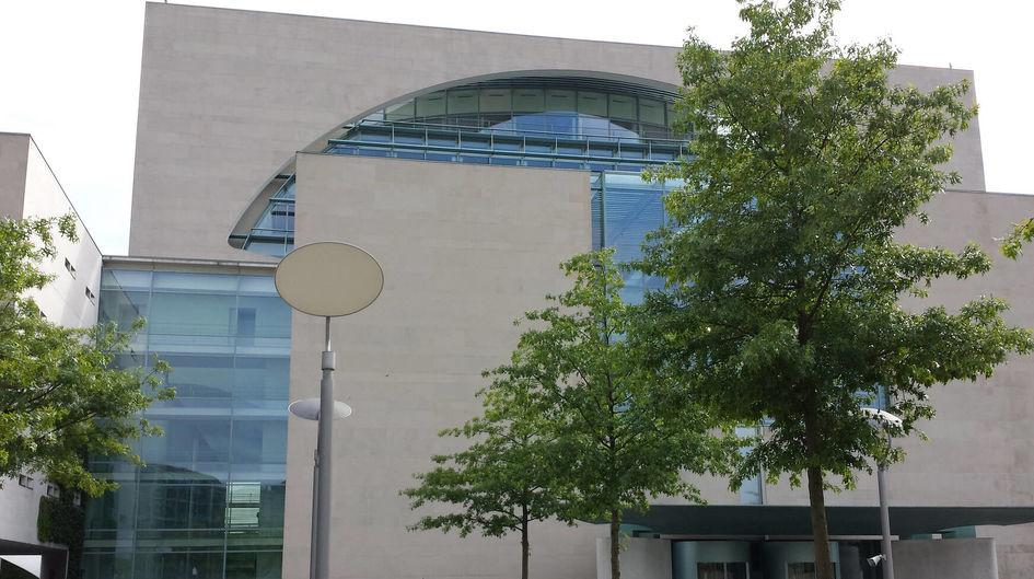 Die Fassade des Bundeskanzleramtes sieht nach der Behandlung mit Protectosil® makellos aus.