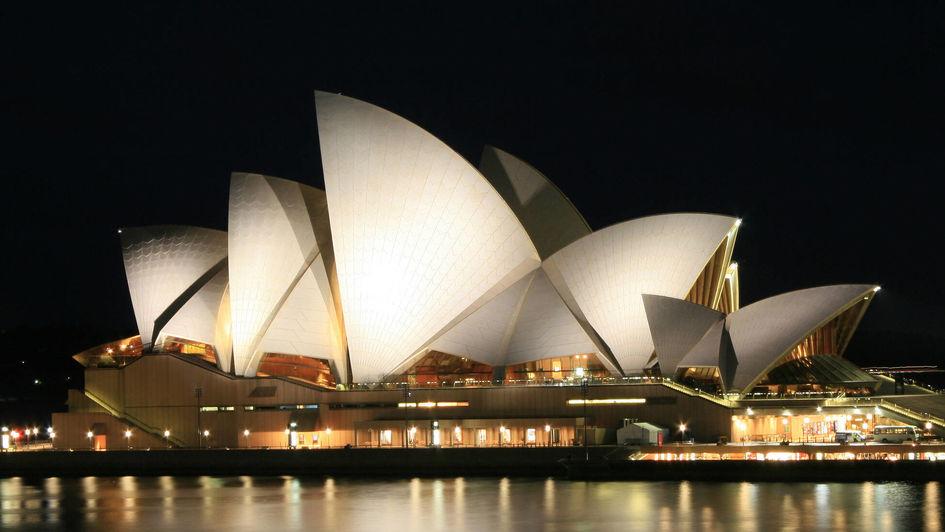 The Opera House in Sydney, Australia