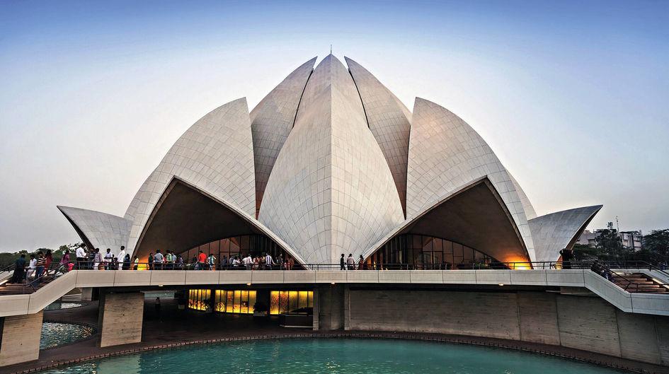 Bahai Temple, India