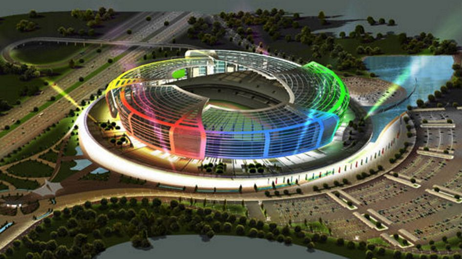 Olympia Stadium, Azerbaijan, protected by Protectosil® BHN