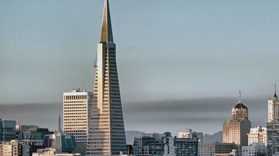 The Pyramid Center in San Francisco, CA, is treated with Protectosil® CHEM-TRETE® BSM 400.