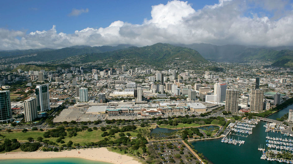 The Ala Moana Pacific Center in Hawaii is protected with Protectosil® CIT.