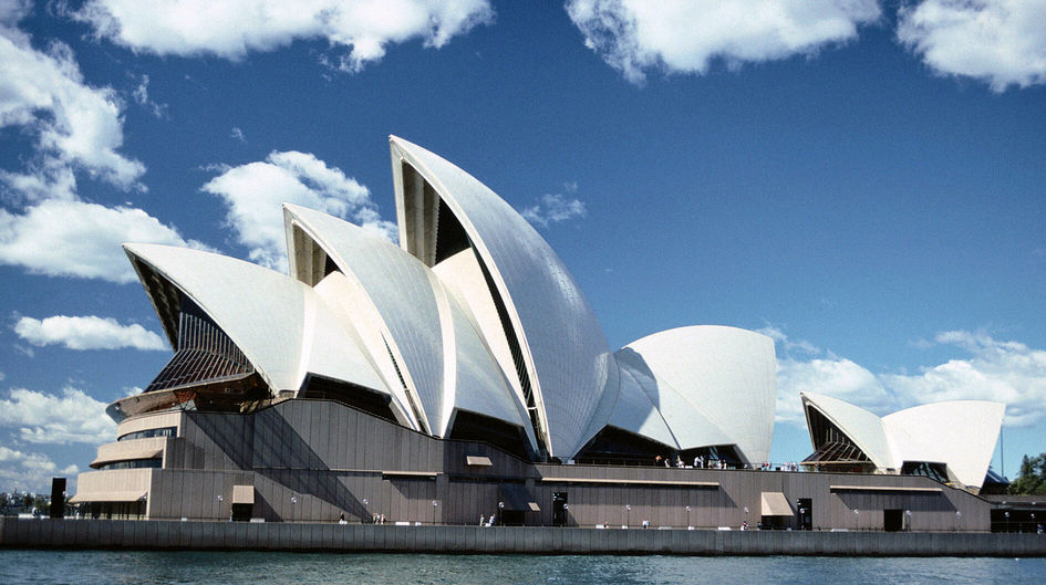 The Opera House in Sydney, Australia, is protected with Protectosil®.