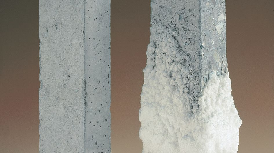 The use of Protectosil® products can prevent serious damage like salt burst and efflorescence.