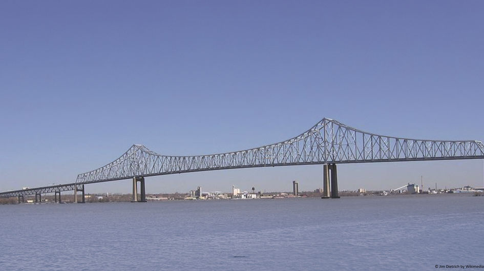 The Commodore Barry Bridge, New Jersey, is protected with Protectosil® CIT, extending the lifetime of the steel-reinforced concrete structure, meaning lower costs.