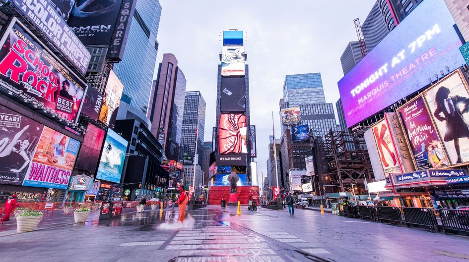 The walkways in the pedestrian zone of the Times Square will remain clean for a long time thanks to Protectosil® BHN PLUS. The treatment effectively repels water, oil, stains and water-soluble contaminants.